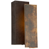 Troy Lighting Archetype LED Outdoor Wall Sconce in Historic Brass BL4652