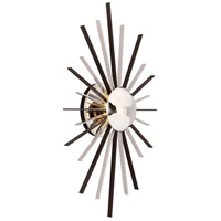 Atomic LED 14 inch Polished Nickel Wall Sconce Wall Light