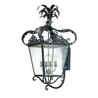 Troy Lighting Portola 4 Light Outdoor Wall Lantern in Verona Bronze B1056VBZ
