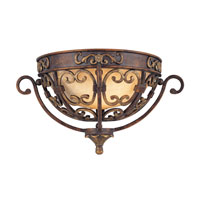 Troy Lighting La Paloma 1 Light Wall Sconce in Venetian Bronze B1103VB