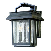 Logan 2 Light 11 inch Old Bronze Outdoor Wall Lantern