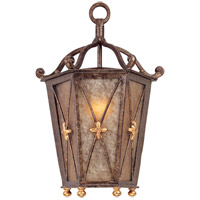 Troy Lighting Cheshire 1 Light Outdoor Pocket Lantern in Bronze Leaf B1268BLF