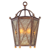 Troy Lighting Cheshire 2 Light Outdoor Pocket Lantern in Bronze Leaf B1269BLF