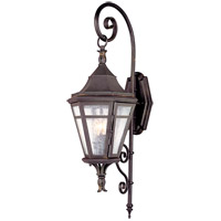 Morgan Hill 2 Light 31 inch Natural Rust Outdoor Wall Lantern