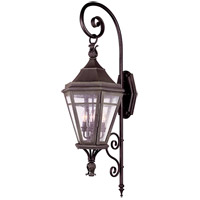 Morgan Hill 4 Light 46 inch Natural Rust Outdoor Wall Lantern