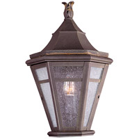 Troy Lighting Morgan Hill 1 Light Outdoor Pocket Lantern in Natural Rust B1278NR