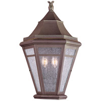 Troy Lighting Morgan Hill 2 Light Outdoor Pocket Lantern in Natural Rust B1279NR