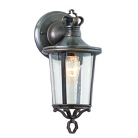 Troy Lighting Britannia 1 Light Outdoor Wall Lantern in English Bronze B1381EB