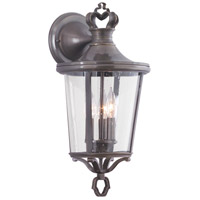 Troy Lighting Britannia 3 Light Outdoor Wall Lantern in English Bronze B1382EB