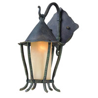 Troy Lighting Nottingham 1 Light Outdoor Wall Lantern in Vert Antique B1421VA