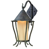 Troy Lighting Nottingham 1 Light Outdoor Wall Lantern Dark Sky in Vert Antique B1423VA-D