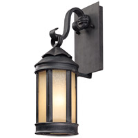 Troy Lighting Andersons Forge 1 Light Outdoor Wall Lantern in Aged Iron B1461AI