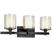 Troy Lighting Arcadia 3 Light Bath Vanity in French Iron B1713FR photo thumbnail
