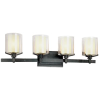 Troy Lighting Arcadia 4 Light Bath Vanity in French Iron B1714FR