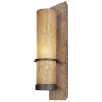 Bamboo 1 Light 19 inch Bamboo Bronze Outdoor Wall in Incandescent