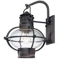 Troy Lighting Portsmouth 1 Light Outdoor Wall Lantern in Boston Bronze B1873BB