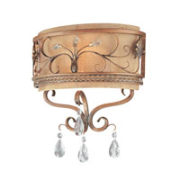 Troy Lighting Heirloom 2 Light Wall Sconce in Sunset Bronze B1952SBZ