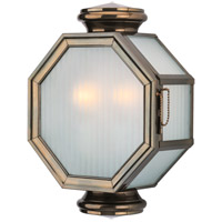 Lexington 2 Light 15 inch Heritage Bronze Outdoor Wall Lantern