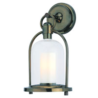 Troy Lighting Chatham 1 Light Outdoor Wall Lantern in Heritage Bronze B2021HB