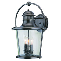 Troy Lighting Guild Hall 3 Light Outdoor Wall Lantern in English Bronze B2033EB photo thumbnail