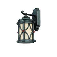 Troy Lighting Woodridge 1 Light Outdoor Mini Wall Lantern in Ancient Bronze B2071ANB