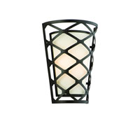 Helix 2 Light 10 inch Modern Bronze Wall Sconce Wall Light