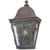Troy Lighting Markham 1 Light Outdoor Wall Pocket in Weathered Bronze B2351WB
