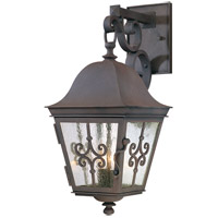 Troy Lighting Markham 2 Light Outdoor Wall in Weathered Bronze B2352WB