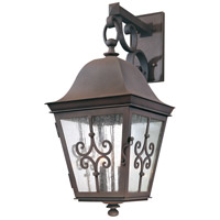 Troy Lighting Markham 4 Light Outdoor Wall in Weathered Bronze B2354WB photo thumbnail