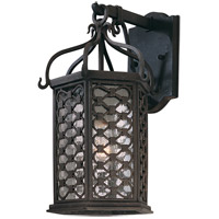Troy Lighting Los Olivos 1 Light Outdoor Wall in Old Iron B2372OI