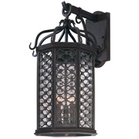 Los Olivos 3 Light 21 inch Old Iron Outdoor Wall in Incandescent