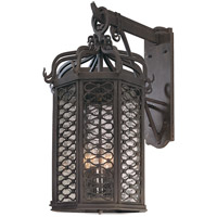 Los Olivos 4 Light 26 inch Old Iron Outdoor Wall in Incandescent