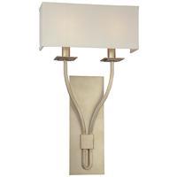 Troy Lighting B2462SL Palladium 2 Light 12 inch Silver Leaf ADA Wall Sconce Wall Light