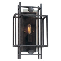 Troy Lighting B2491FI Crosby 1 Light 10 inch French Iron ADA Wall Sconce Wall Light