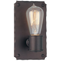 Troy Lighting Jackson 1 Light Wall Sconce in Copper Bronze B2501CB
