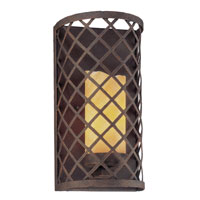 Troy Lighting Sienna 1 Light Wall Sconce in Burnt Sienna B2681