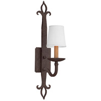 Troy Lighting Lyon 1 Light Wall Sconce in Burnt Sienna B2711
