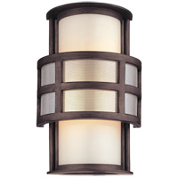 Troy Lighting Discus 1 Light Outdoor Wall in Graphite B2731