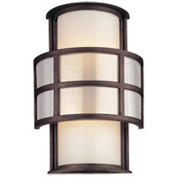 Troy Lighting B2732 Discus 2 Light 14 inch Graphite Outdoor Wall in Incandescent photo thumbnail