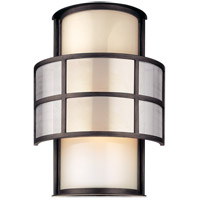Troy Lighting B2733 Discus 2 Light 18 inch Graphite Outdoor Wall in Incandescent