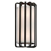 Drum 2 Light 7 inch Graphite ADA Wall Sconce Wall Light