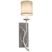 Troy Lighting Adirondack 1 Light Wall Sconce in Graphite And Silver B2841