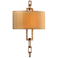 Link 2 Light 13 inch Bronze Leaf Wall Sconce Wall Light in Incandescent