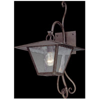 Troy Lighting Potter 1 Light Outdoor Wall in Fired Iron B2951
