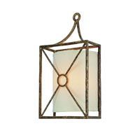 Maidstone 2 Light 9 inch Bronze Leaf ADA Wall Sconce Wall Light