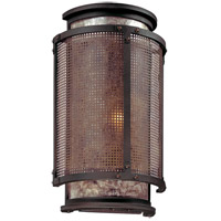 Troy Lighting Copper Mountain 1 Light Wall Sconce in Bronze B3101