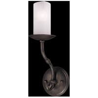 Troy Lighting Prescott 1 Light Wall Sconce in Aged Pewter B3111