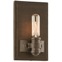 Troy Lighting Pike Place 1 Light Wall Sconce in Shipyard Bronze B3121