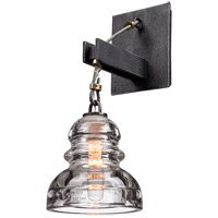 Troy Lighting Menlo Park 1 Light Wall Sconce in Old Silver B3131 photo thumbnail