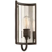 Troy Lighting Brooklyn 1 Light Wall Sconce in Brooklyn Bronze B3141